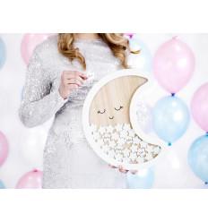 Cadre Lune Pour Bapteme Baby Shower