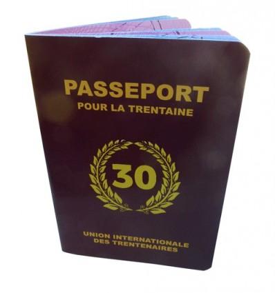 Livre d'Or Anniversaire - Passeport 30, 40, 50 et Retraite