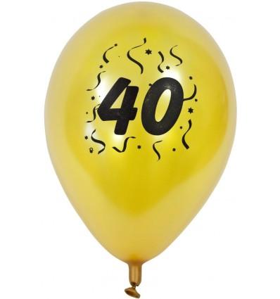 Ballons Anniversaire 40 ans
