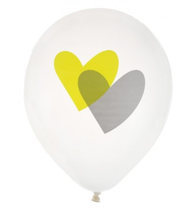 Ballons Mariage : Union 2 Coeurs