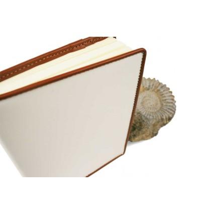 Livre d'Or « Toscane » CUIR BROSSÉ - Haut de gamme