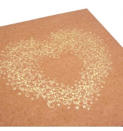 Livre d'Or « Un Cœur en OR » pour mariage