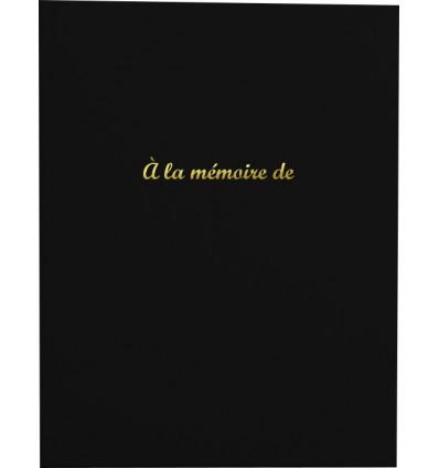 Livre d'Or « À la mémoire de »