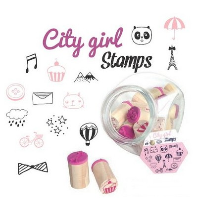 Bocal de Tampons City girl