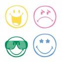 Boîte de 38 tampons SMILEY