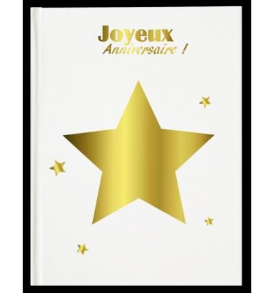 Livre d'Or Anniversaire Star