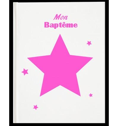 Livre d'Or Baptême Star