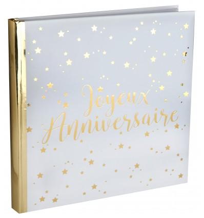 Livre d'Or Anniversaire - Joyeux Anniversaire