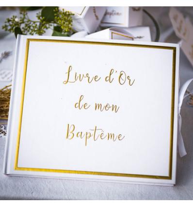 Livre d'Or Baptême - Le Traditionnel