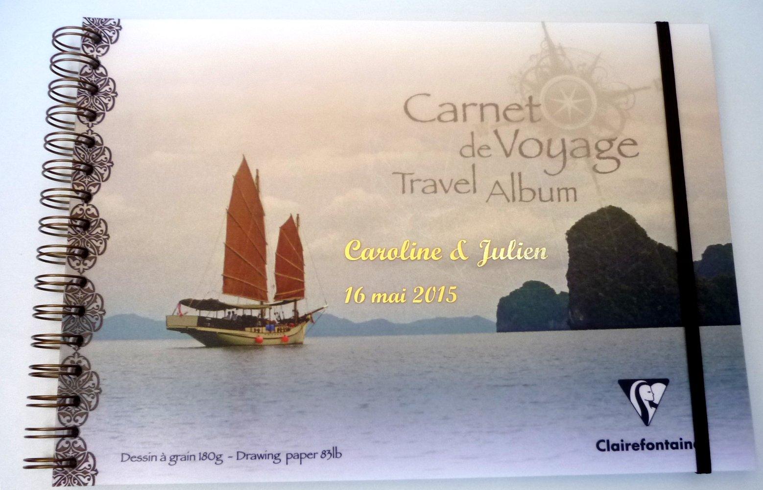 Carnet de Voyages à personnaliser