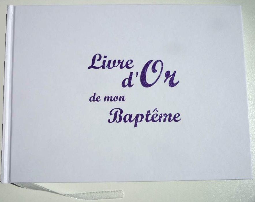 Livres d'Or Baptême