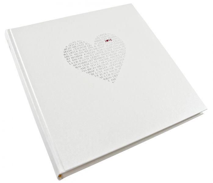 Livre d'or mariage Cœur