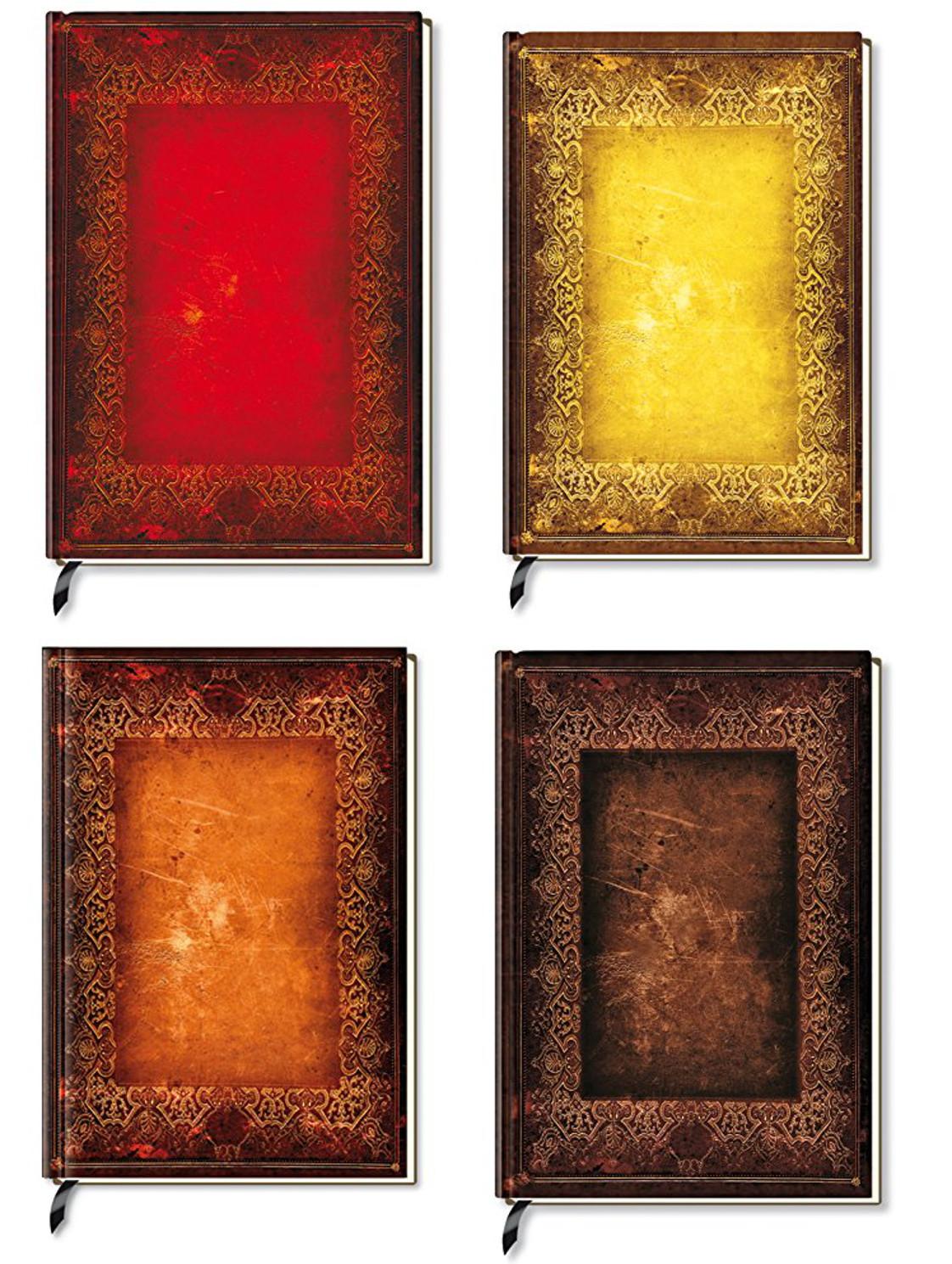 Grimoire - Livre d'Or Antique, Ancien